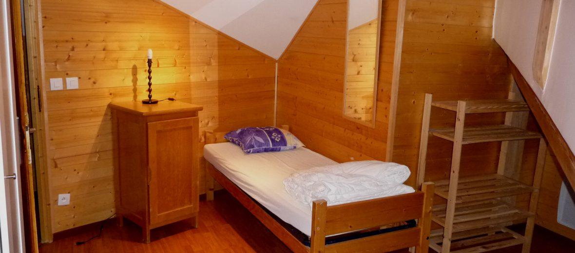 Chambre 2 avec petits lits